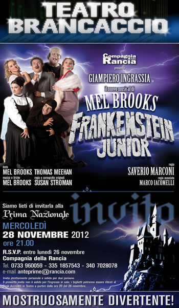 Frankenstein Junior - il musical